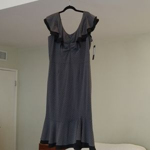 Stop Staring grey PLUS SIZE dress